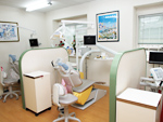 もとだ歯科医院の室内